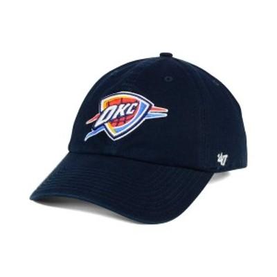 47ブランド メンズ 帽子 アクセサリー Oklahoma City Thunder Clean Up Cap Navy
