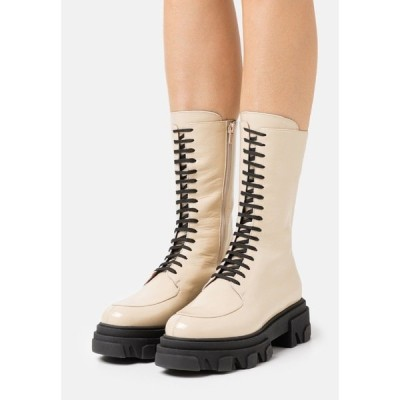 ジョナック ブーツ&レインブーツ レディース シューズ DEMETER - Platform boots - ecru
