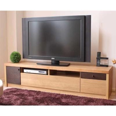 木製テレビ台180センチ幅 HOMA(ホマ) ナチュラル色 完成品 国産品