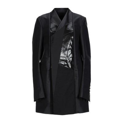 リック オウエンス RICK OWENS コート ブラック 40 ナイロン 60% / コットン 40% コート
