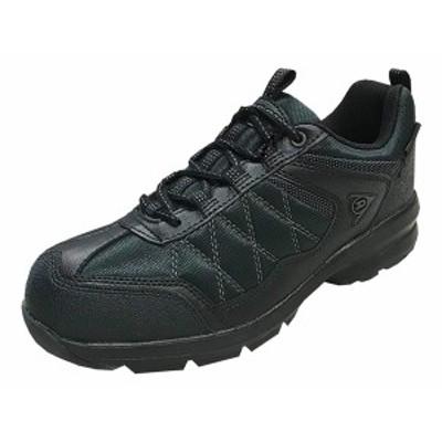 ダンロップ スニーカー 靴 DUNLOP 672 WP ブラック アーバントラディション DU 672 幅広4E/軽量設計/ガセット/フレックス設計 カップイン