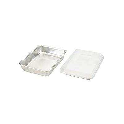 Nordic Ware Natural Aluminum Commercial 3-Piece Baker's Set, Quarter Sheet