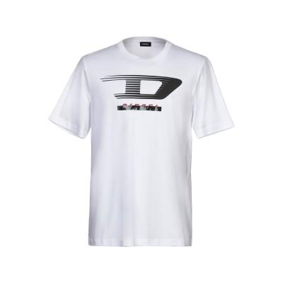 ディーゼル DIESEL T シャツ ホワイト XL コットン 100% T シャツ