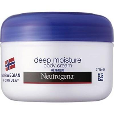 ニュートロジーナ ノルウェー フォーミュラ ディープモイスチャー ボディクリーム 乾燥肌用・微香性 200mL[配送区分:A]