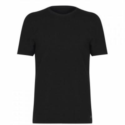 ファイヤートラップ Firetrap メンズ Tシャツ トップス Waffle T-Shirt Black