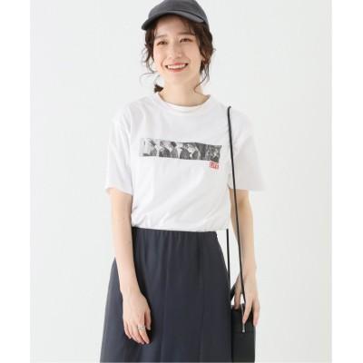 【ジョイントワークス】 LIFE Fashion FeautureフォトTシャツ レディース ホワイト M JOINT WORKS