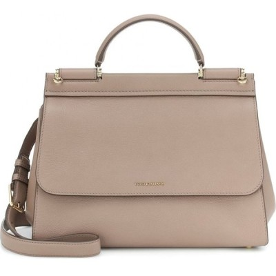 ドルチェ&ガッバーナ Dolce & Gabbana レディース ショルダーバッグ バッグ sicily soft medium shoulder bag Tortora