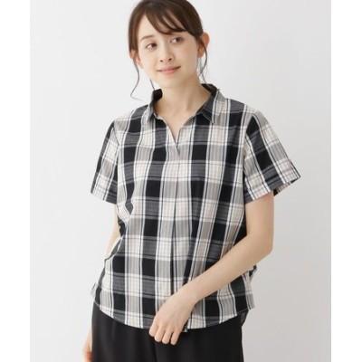【M-LL】スキッパーシャツ
