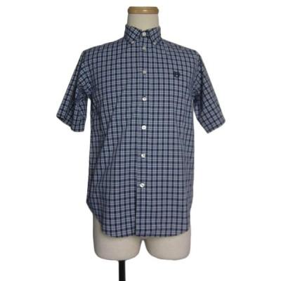 CHAPS 半袖 チェック柄 ボタンダウン シャツ 古着 アメカジ B.Dシャツ