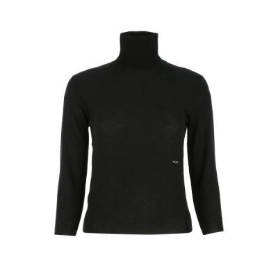 プラダ レディース ニット&セーター アウター Prada Logo Turtleneck Knit Jumper -