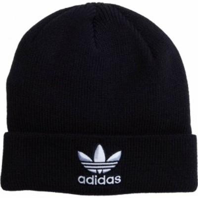アディダス adidas Originals レディース ニット ビーニー 帽子 Originals Trefoil Beanie Black/White