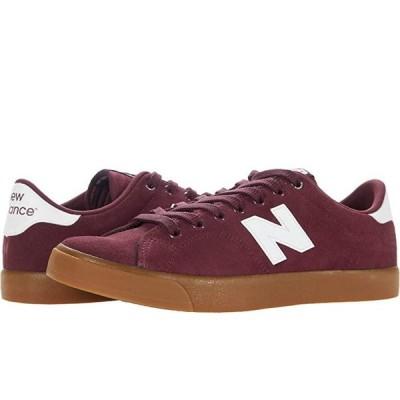 New Balance Numeric AM210 メンズ スニーカー 靴 シューズ Burgundy/Gum