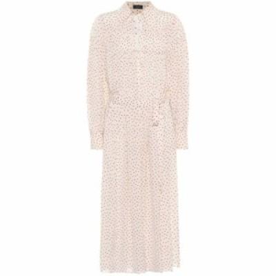 ジョゼフ Joseph レディース ワンピース ワンピース・ドレス Crosby printed silk shirt dress Ecru