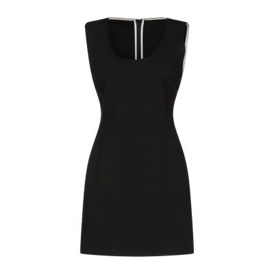 ジャッカ JUCCA ミニワンピース&ドレス ブラック 42 レーヨン 69% / ナイロン 25% / ポリウレタン 6% ミニワンピース&ドレス