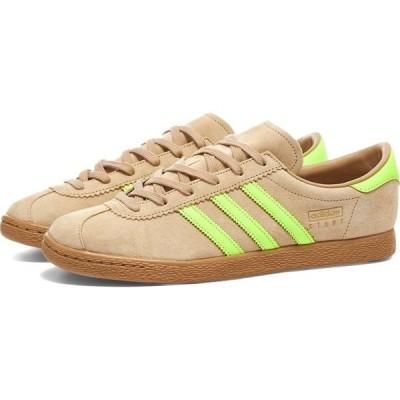 アディダス Adidas メンズ スニーカー シューズ・靴 Stadt Pale Nude/Solar Yellow/Gum