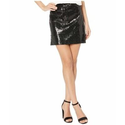 ビービーダコタ レディース スカート ボトムス Modern Love Sequin Mini Skirt Black