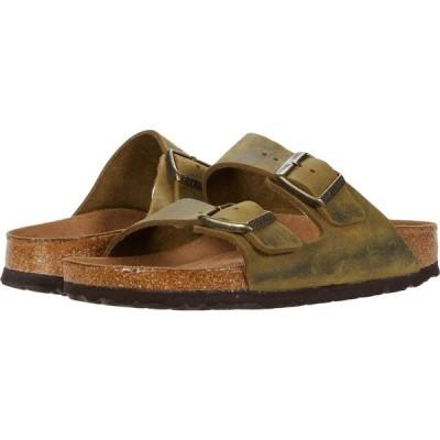 ビルケンシュトック Birkenstock レディース シューズ・靴 Arizona Soft Footbed Jade Oiled Leather