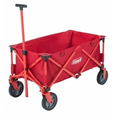 真っ赤なワゴン☆多くの荷物を楽に運べるコンパクト収納