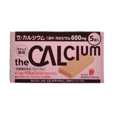 ザ・カルシウム ストロベリークリーム 5袋入※取り寄せ商品 返品不可