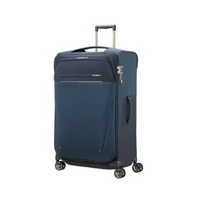 SAMSONITE B-Lite Icon - Spinner 78/31 Expandable, 107.5 L, 2.9 KG Hand Luggage, 78 cm, 117.5 liters, Blue (Dark Blue)[並行輸入品]
