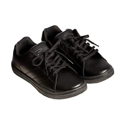 ボディメーカー(BODYMAKER) メンズ レディース ストリートスニーカー ブラック×ブラック AS083 BKBK 靴 シューズ 普段履き カジュアル