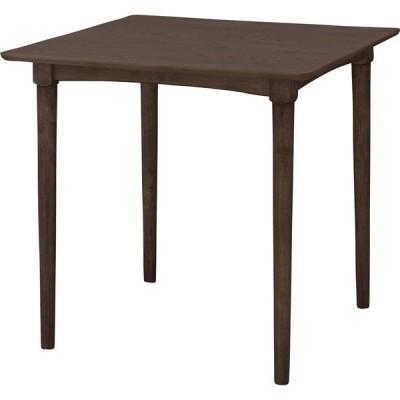 ダイニングテーブル 幅75×奥行75×高さ70cm ダイニング テーブル 木製 オーク材 NET-829TBR