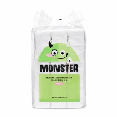 ETUDE (エチュード ハウス) モンスター クレンジング コットン パッド 408P Monster Cleansing Cotton