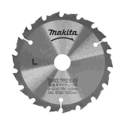 マキタ チップソー 硬質窯業系サイディング用 外径125mm 刃数18T A-50083
