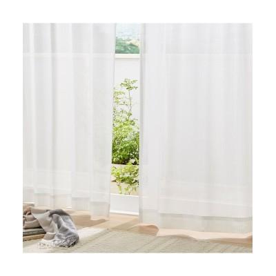 花粉対策。遮熱。昼間見えにくい。UVカットレースカーテン レースカーテン・ボイルカーテン, Curtains, sheer curtains, net curtains(ニッセン、nissen)