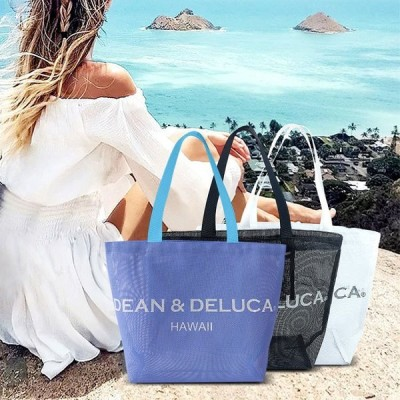 トートバッグ 中身が透けるトート DEAN&DELUCA ディーン&デルーカ ハンドバッグ メッシュバッグ バッグ レディース