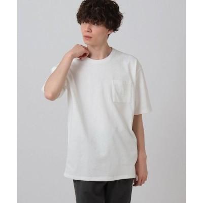 tk.TAKEO KIKUCHI / ティーケー タケオキクチ ◆天竺ワイドTシャツ