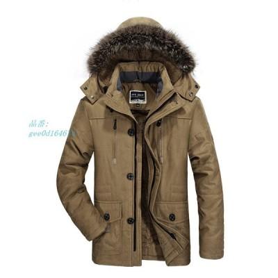 年末セール モッズコート 40代 ミリタリージャケット メンズ ジャンパー ジャケット 大きい ブルゾン 防寒 ボア付き ファー 8L