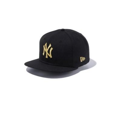 ニューエラ(NEW ERA)9FIFTY ニューヨーク・ヤンキース ブラック×ゴールド 12492805
