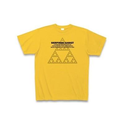 フラクタルTシャツ:シェルピンスキーのギャスケット(ガスケット):学問・科学・数学