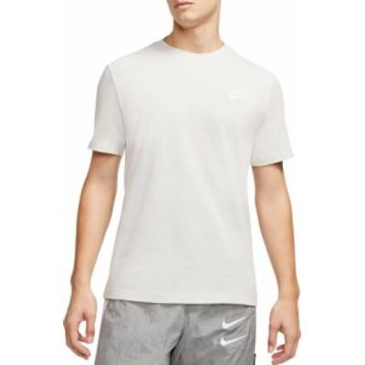 ナイキ メンズ Nike Men's Sportswear Club T-Shirt Tシャツ 半袖 LIGHT BONE