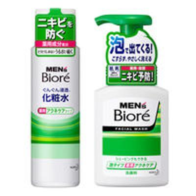 花王【セット品】メンズビオレ アクネケア 泡+薬用 浸透化粧水