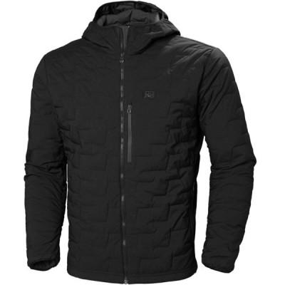 ヘリーハンセン ジャケット&ブルゾン メンズ アウター Lifaloft Hooded Stretch Insulator Jacket - Men's Black