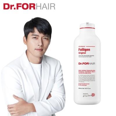 【韓国俳優 ヒョンビン ブランドモデルの洗髪剤】 Dr.FORHAIR フォリゲンシャンプー【愛の不時着  Netflix 韓流 ドラマ】