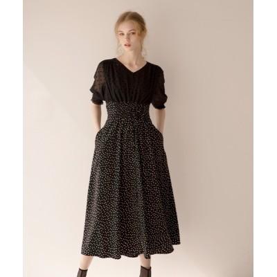 ドレス San Marino Dot Dress
