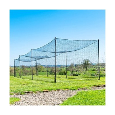 70' Ultimate Baseball Batting Cage Net & Poles Package - #42 Heavy Duty Net with Steel Uprights 24hr Ship (01. Ultimate Batting Cage) 並行