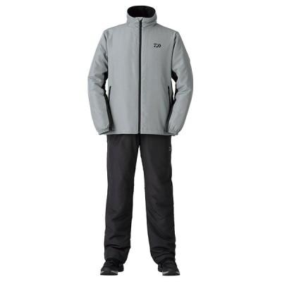 ダイワ (Daiwa) DI-5520 グレー Lサイズ 中綿入りミドラースーツ
