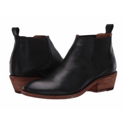 フライ ブーツ&レインブーツ シューズ レディース Carson Chelsea Black Full Grain Leather