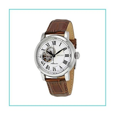 Seiko Silver Dial Brown Leather Automatic Mens Watch SSA231【並行輸入品】