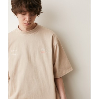 JUNRed / 【DOMDOM×KEN KAGAMIコラボ】モックネックTシャツ MEN トップス > Tシャツ/カットソー