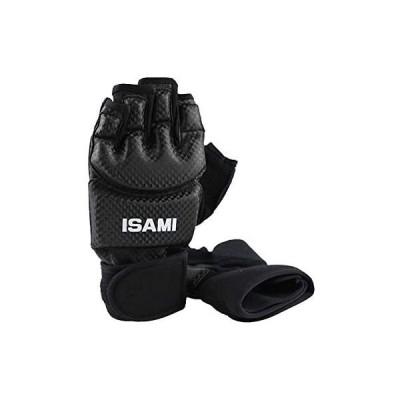 ISAMI ハンドガード (ブラック) TN-1-BK //イサミ フルコンタクト空手 フルコン (Small)