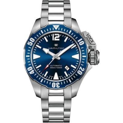 Hamilton HAMILTON watch khaki navy open water Auto Divers H77705145 Me