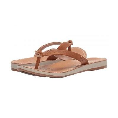 Olukai オルカイ レディース 女性用 シューズ 靴 サンダル Hawaiiloa Kia hope - Fox/Golden Sand