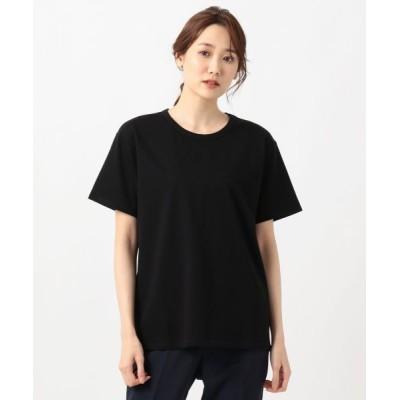 ICB/アイシービー Simple Jersey 半袖Tシャツ ブラック系 S