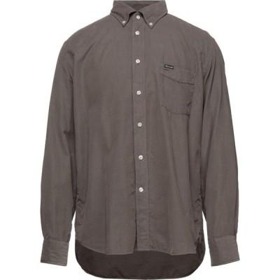 ファソナブル FACONNABLE メンズ シャツ トップス solid color shirt Military green