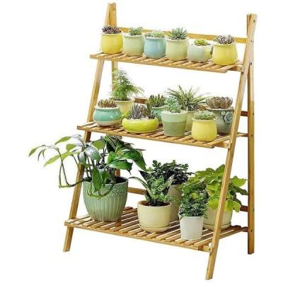 フラワースタンド   園芸ラック  花棚 盆栽棚 多肉植物棚 多機能収納ラック 花台 鉢植え  インテリアガーデンスタンド  簡単組み立て